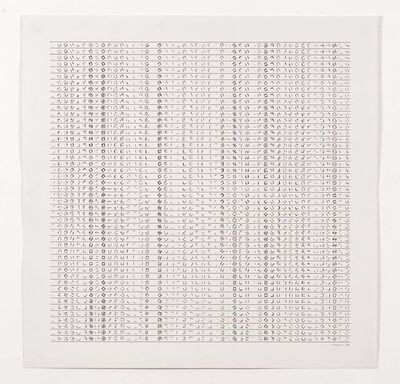 Manfred Mohr, 'P-158a', 1974