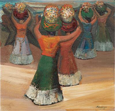 David Alfaro Siqueiros, 'Tehuanas', 1949