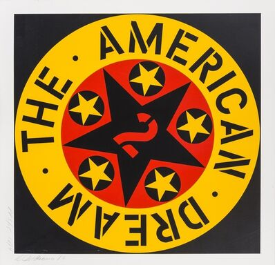 Robert Indiana, 'The American Dream 2 (Sheehan 125)', 1982