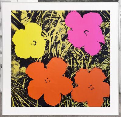 Sunday B. Morning, 'Flowers - orange, pink, yellow', 1970