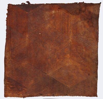 Heidi Bucher, 'Floor Fragment in Three Parts: Part 1', ca. 1983