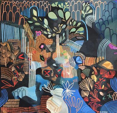 Ashley Amery, 'Night Waterfalls', 2018