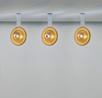 Pierre Cardin, 'Set of three ceiling lights', circa 1970
