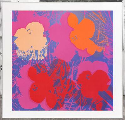 Sunday B. Morning, 'Flowers - red, pink, orange, purple', 1970