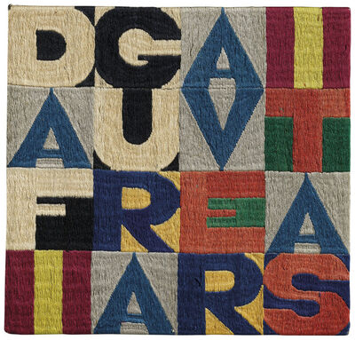 Alighiero Boetti, 'Da figura a veritas', 1979