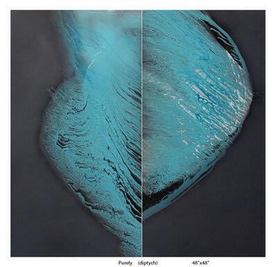 Sharon Weiner, 'Purely (diptych)', 2018
