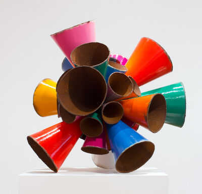 James Angus, 'Polychrome Pipe Burst', 2015