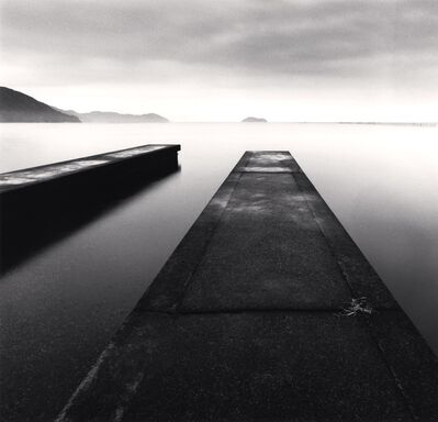 Michael Kenna, 'Two Piers, Imazu, Honshu, Japan', 2001