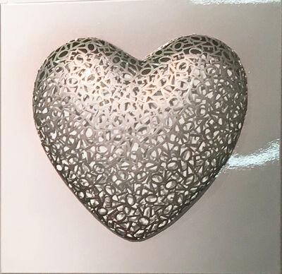 Byung-Jin Kim, 'Love-Love (Silver)', 2015