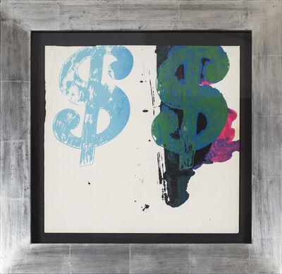 Andy Warhol, '$$ Sign ', 1980