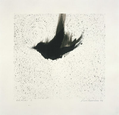 Ross Bleckner, 'Single Bird', 1999