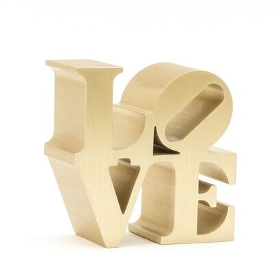 Robert Indiana, 'LOVE (Gold)', 2009