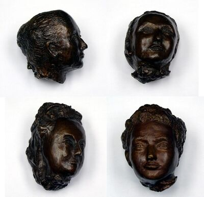 Kiki Smith, 'Heads', 2006