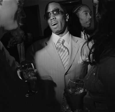 """Larry Fink, 'Sean """"Diddy"""" Combs, Oscar Party, Los Angeles, California', March 2001"""
