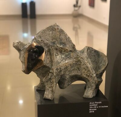 Arun Pandit, 'The Bull', 2018