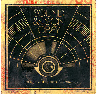 Shepard Fairey (OBEY), 'Sound and Vision', 2012