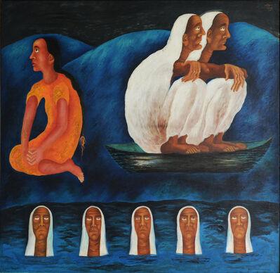 Arpana Caur, 'Time Image', 1988