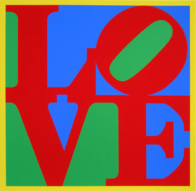 Robert Indiana, 'Heliotherapy Love', 1995