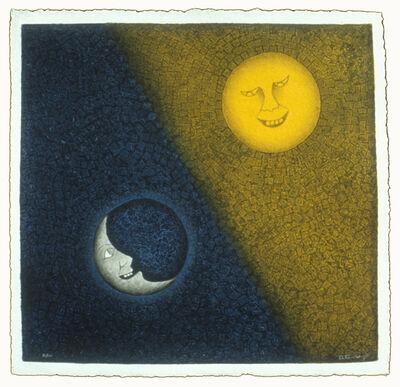 Rufino Tamayo, 'Luna Y Sol', 1990