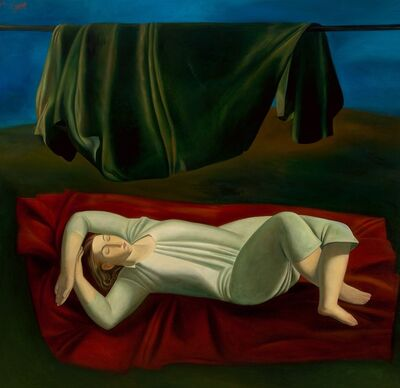 Afifa Aleiby, 'The Red Carpet', 1987