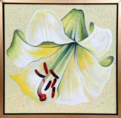 Lowell Nesbitt, 'White Lily', 1982