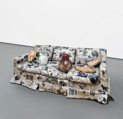 Jessica Jackson Hutchins, 'Couch For A Long Time', 2009