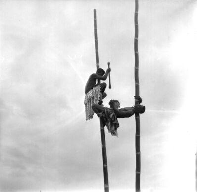 Pierre Verger, 'Acrobates Bambou, Ouidah, Bénin', ca. 1950