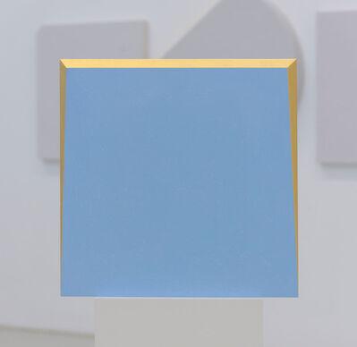 Ettore Spalletti, 'Guardare, azzurro', 2017