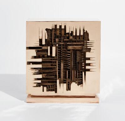 Arnaldo Pomodoro, 'Radar, studio', 1963