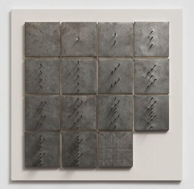 Günther Uecker, 'Plus-Minus-Nul (Objekt und Zeichnung)', 1968