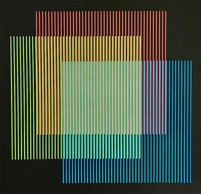 Carlos Cruz-Diez, 'Serie Semana - Lunes', 2013