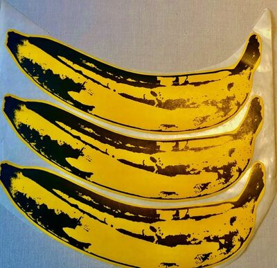 Andy Warhol, 'A Set of Unpeeled Banana Stickers', 1967