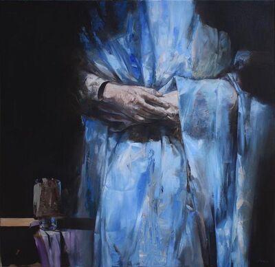 Mozes Incze, 'Blue embrace', 2017