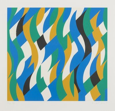 Bridget Riley, 'Echo (Schubert 40)', 1998