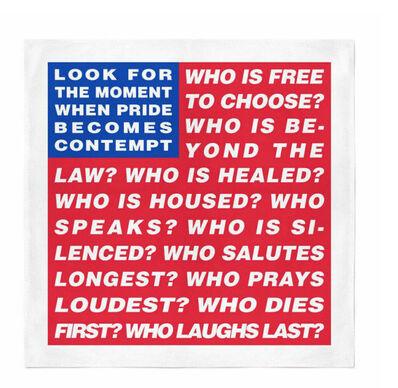 Barbara Kruger, 'Untitled (Flag)', 2020