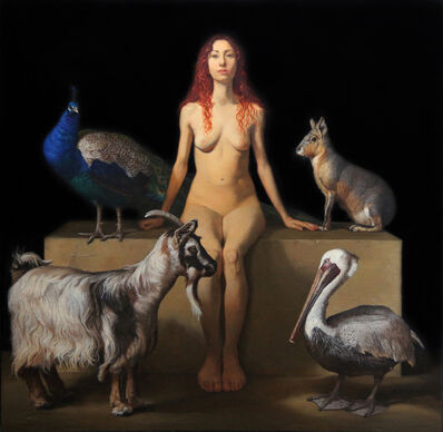 Patricia Traub, 'The Animal Watcher', 2014