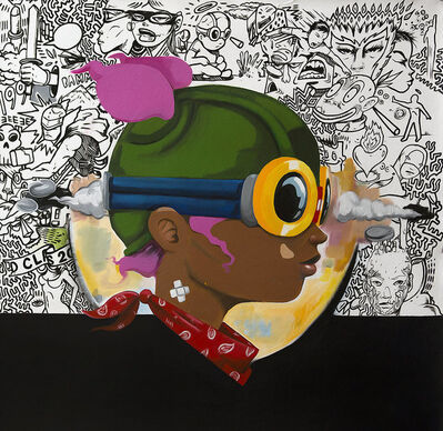 Hebru Brantley, 'Big Tracy', 2014