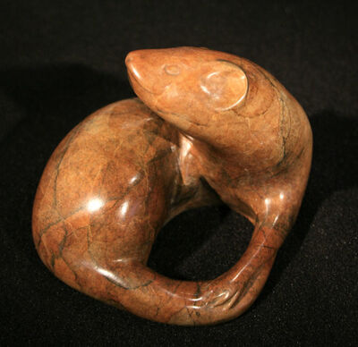 Tony Angell, 'Coiled Form Ermine', 2008
