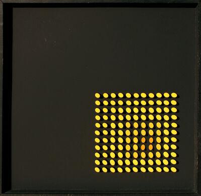 Franco Costalonga, 'Yellow', 1974