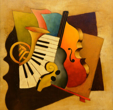 Emanuel Mattini, 'Mosaic Orchestration XIII', 2010-2019