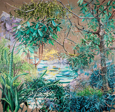 Chris Russell (American, BORN 1983), 'Inner Cultivation', 2017