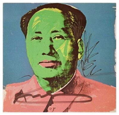 Andy Warhol, 'Mao Tse-Tung', 1972