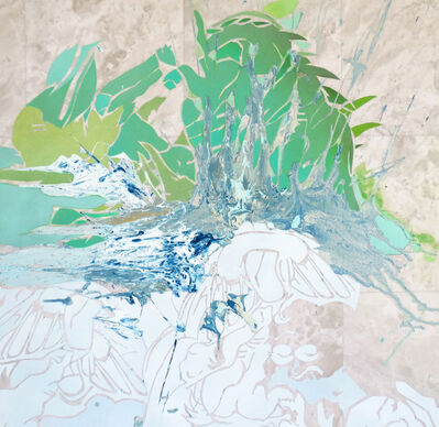 Leigh Anne Chambers, 'Green Smoke, No Joke', 2016