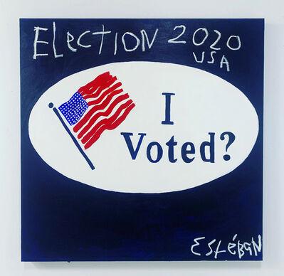 Esteban Whiteside, 'Voting Sticker', 2020