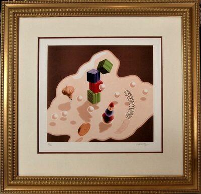 Victor Vasarely, ' Origine II', 1986