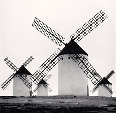 Michael Kenna, 'Don Quixote's Giants, Study 5, Campo De Criptana, La Mancha, Spain', 1996