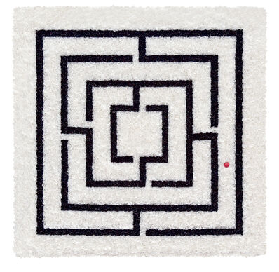 Lore Bert, 'Black Labyrinth', 2007