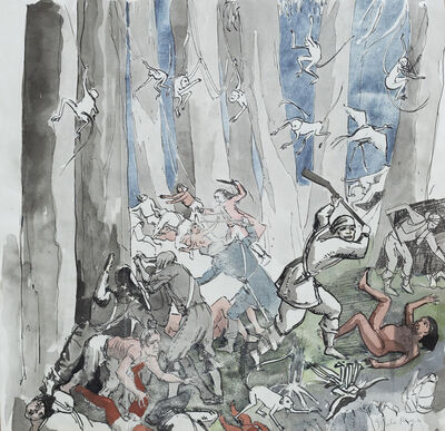 Paula Rego, 'Study for Peter Pan and other stories', 1992