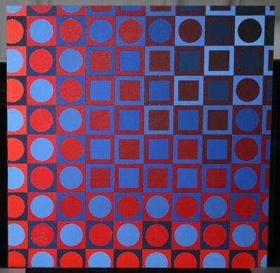Victor Vasarely, 'Lapidaire', 1968