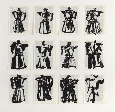 William Kentridge, 'Universal Archive (Twelve Coffee Pots)', 2012